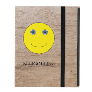 Keep Smiling iPad Folio Case