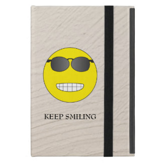 Keep Smiling iPad Mini Cover