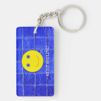 Keep Smiling Key Ring