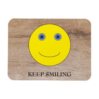 Keep Smiling Magnet