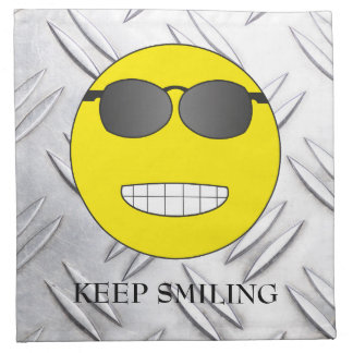 Keep Smiling Napkin