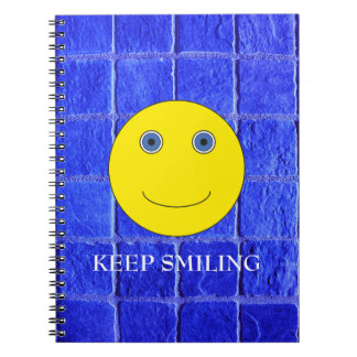 Keep Smiling Notebook