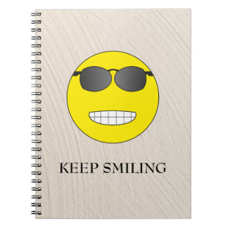 Keep Smiling Notebooks