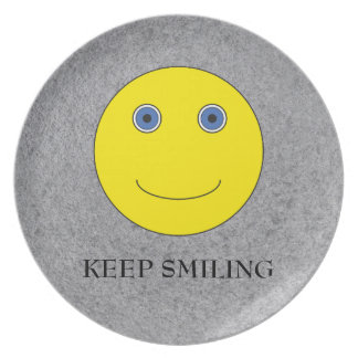 Keep Smiling Plate