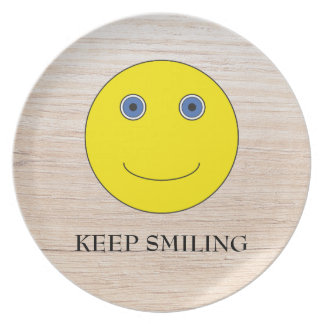 Keep Smiling Plates