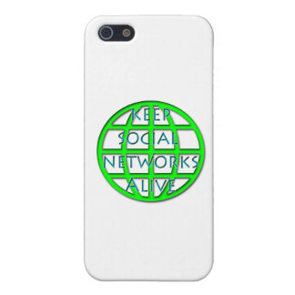 Keep Social Networks Alive Case For iPhone 5/5S