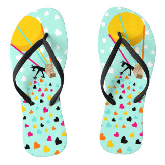 Keep spreading the love flip flops