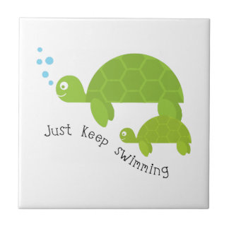 Keep Swimming Tile