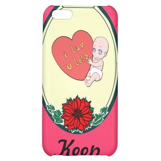 Keep talking -Baby love Cover For iPhone 5C