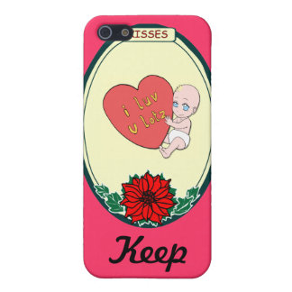Keep talking -Baby love Cover For iPhone 5