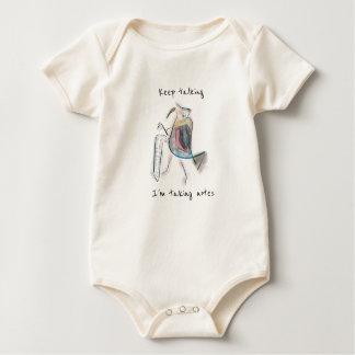 Keep Talking Bird Baby Bodysuit