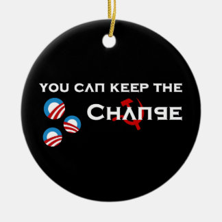 Keep the Change Ornament