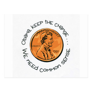 Keep the Change Postcard