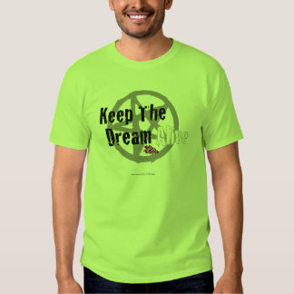Keep The Dream Alive on Mall Rats Symbol Tee Shirt