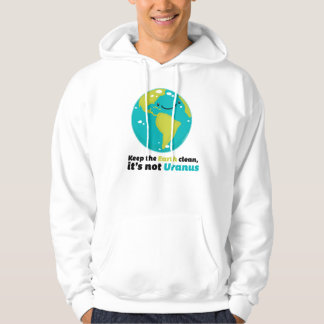 Keep The Earth Clean Hoodie
