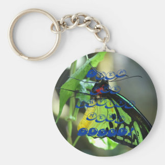 Keep The Enviroment Green Basic Round Button Key Ring