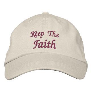 Keep The Faith Inspirational Baseball Cap