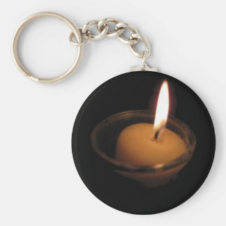 Keep the Flame Burning Candle Key Chain