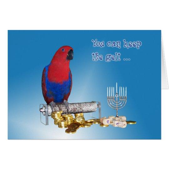 Keep the Gelt Greeting Card