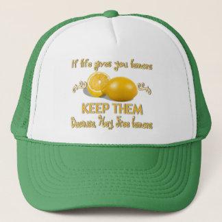 Keep the lemons trucker hat