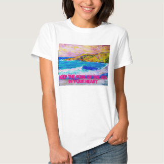keep the soul of the sea in your heart t shirt