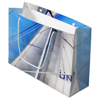 Keep The Wind In Your Sails Large Gift Bag