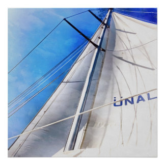 Keep The Wind In Your Sails Poster