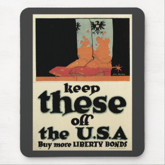 Keep Theese Off USA World War 2 Mouse Pad