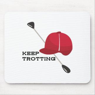 Keep Trotting Mouse Pads
