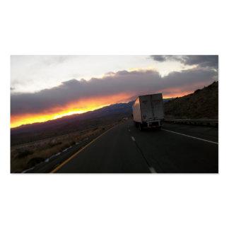 keep Truckin Pack Of Standard Business Cards