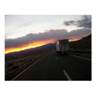 Keep Truckin Postcard