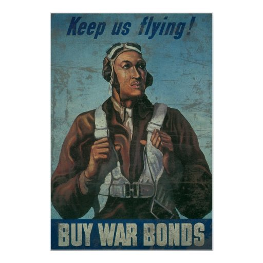 Keep Us Flying Buy War Bonds Poster