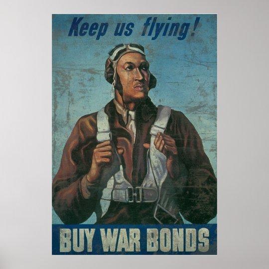 Keep Us Flying Buy War Bonds Poster