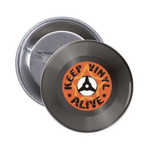 Keep Vinyl Alive Pins