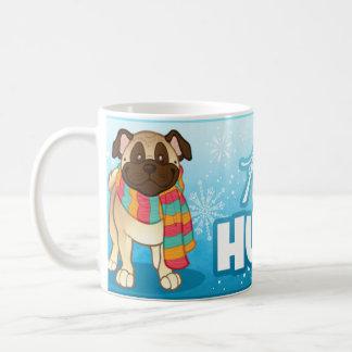 """""""Keep Warm"""" Pug Scarf Mug"""