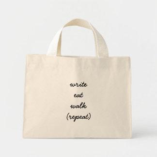 Keep Writing Mini Tote Bag