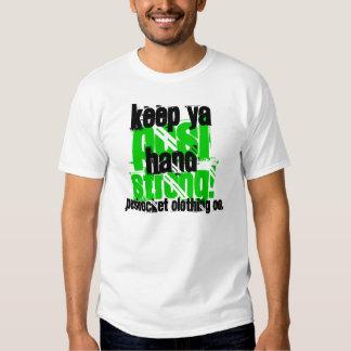 Keep Ya Posi Hand Strong Tee Shirt