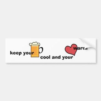 Keep your bear cool… bumper sticker