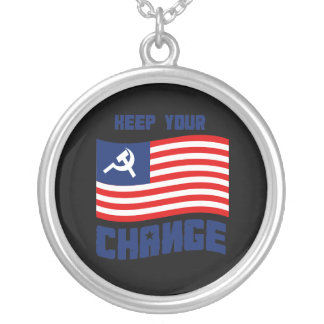 Keep your Change Round Pendant Necklace