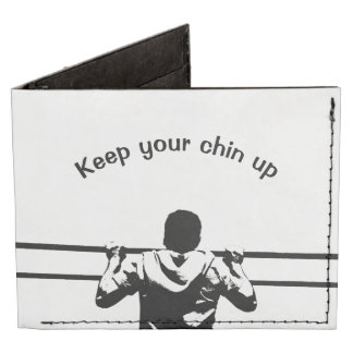 Keep Your Chin Up White