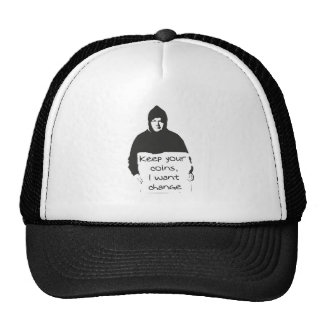 keep your coins, I want CHANGE Trucker Hat