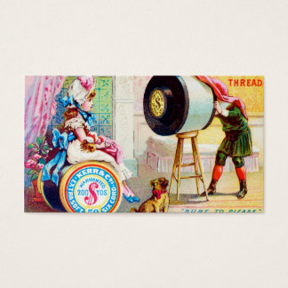 Keep Your Eye On Kerr's Thread Business Card