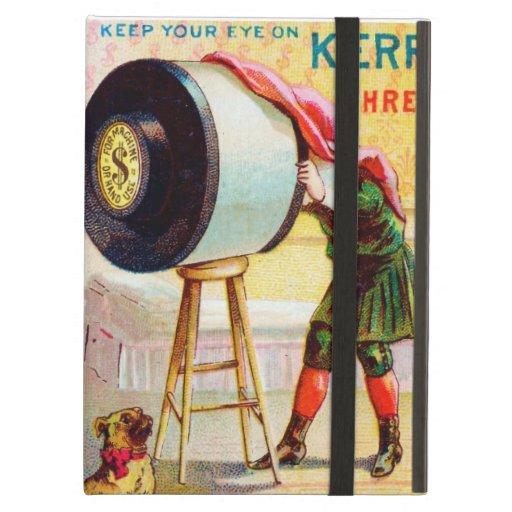 Keep Your Eye On Kerr's Thread iPad Cover