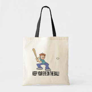Keep Your Eye On The Ball Tote Bags
