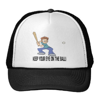 Keep Your Eye On The Ball Cap