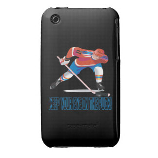 Keep Your Eye On The Puck iPhone 3 Case-Mate Cases