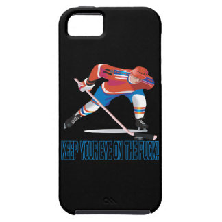 Keep Your Eye On The Puck iPhone 5 Case