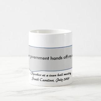 Keep your government hands off my Medicare Coffee Mug