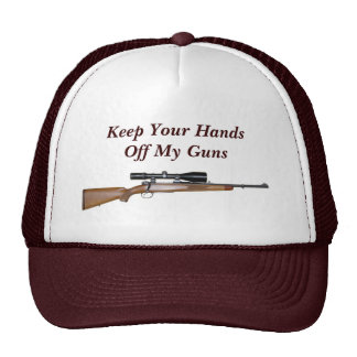Keep Your Hands Off My Guns Cap