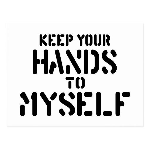 Keep Your Hands Postcard
